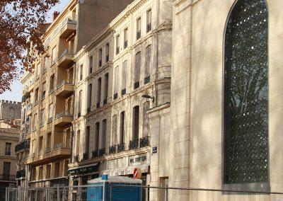 Vitrail dans la ville - Vitrail du Conservatoire de Musique, Danse et Théâtre d'Avignon