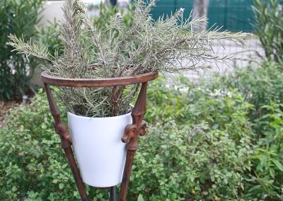 Support de pot de fleurs