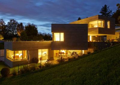Maison design avec très grands coulissants panoramiques Weeeze