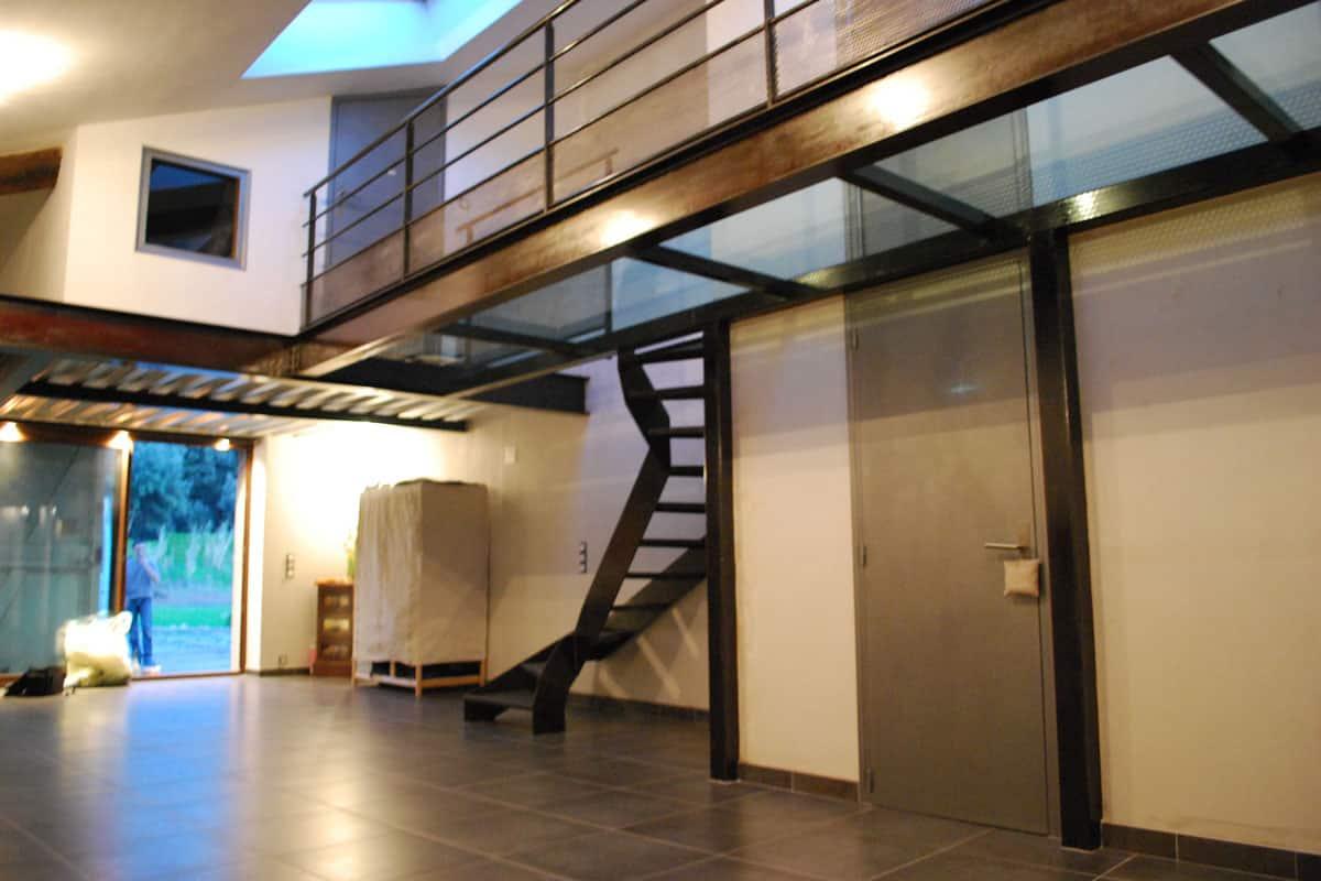 Maison Avec Passerelle Intérieure nos escaliers : élevez-vous avec design | masfer